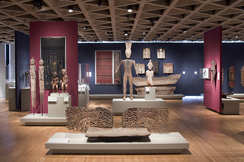 Art Calendar Yale : Textiles close up indonesia at the yale university art